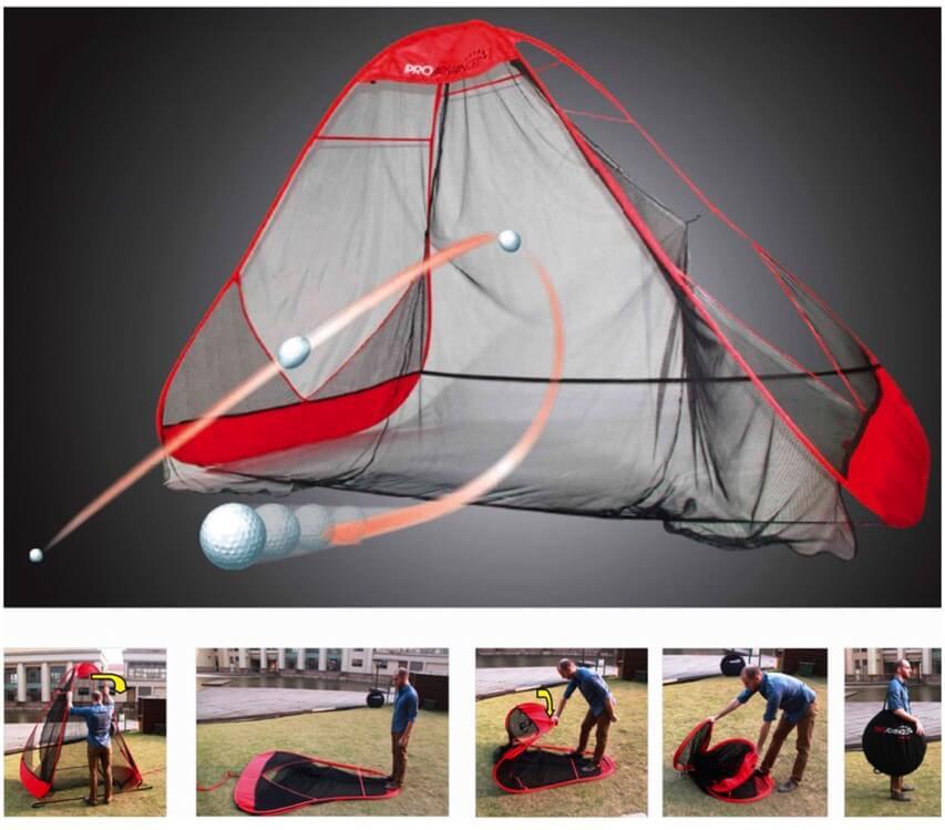 Pro Advanced Return Golf Practice Net Golf Swing Systems