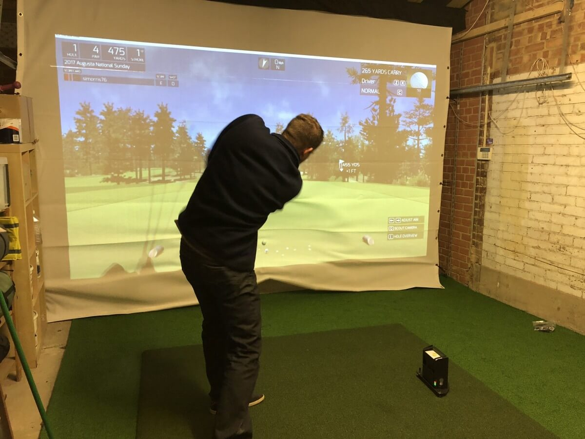 Golf Garage Simulator