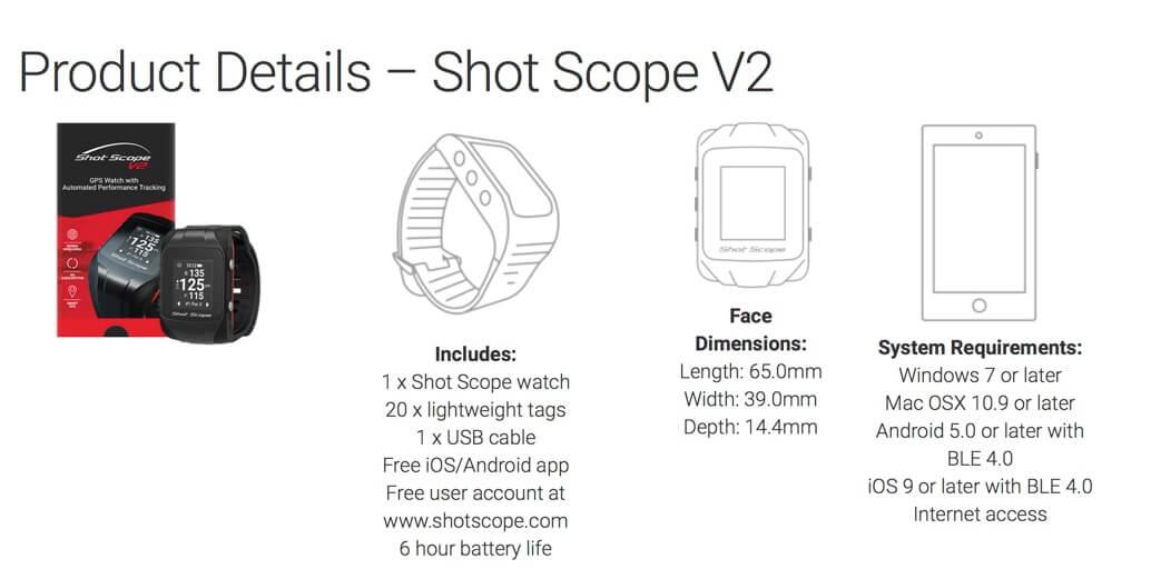 Shot Scope V2 GPS