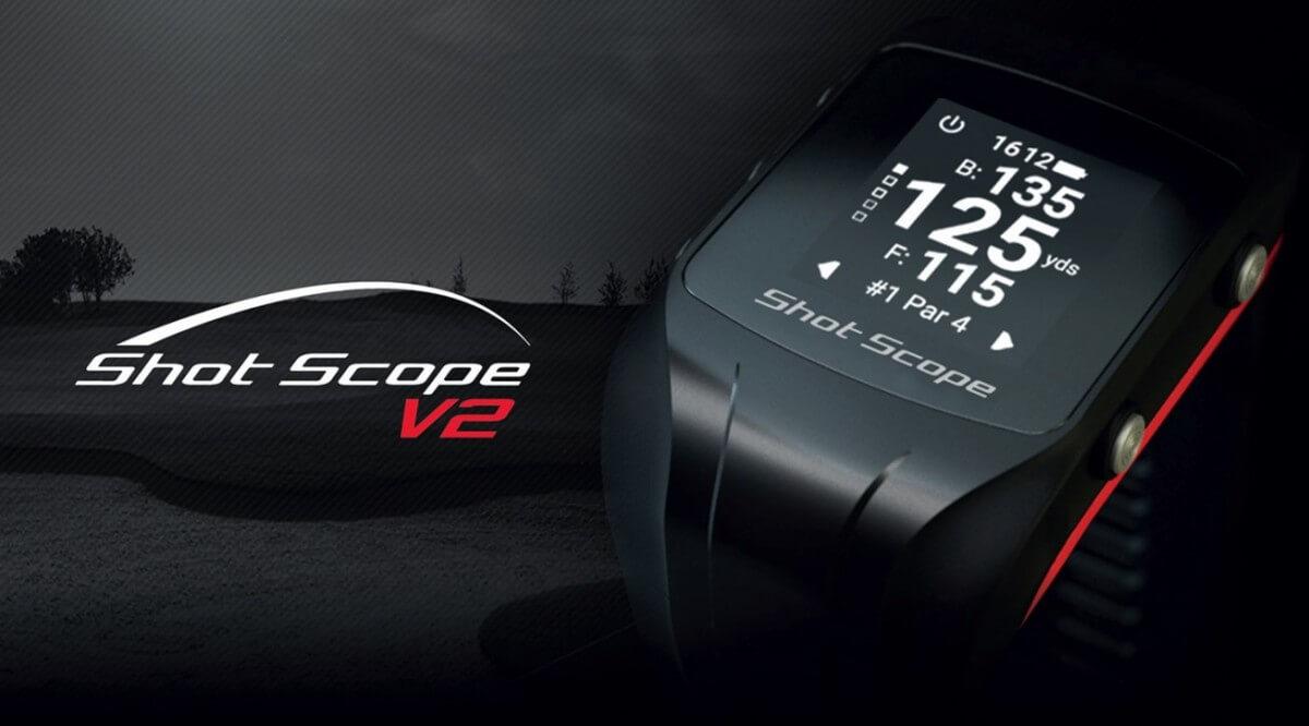 Shot Scope V2 Gps Amp Performance Tracking Golf Watch Golf