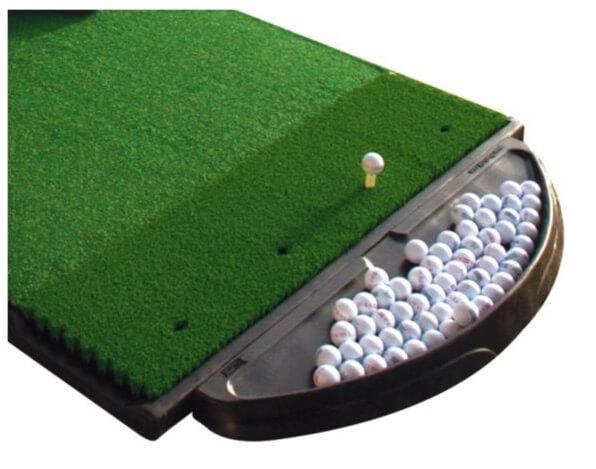 Fiber built ball tray
