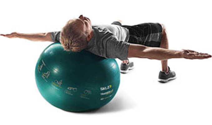 SKLZ golf trainer ball - self-guided stability ball image