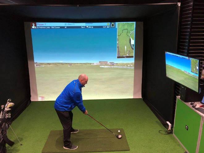 Tee Turf Golf Mat Image