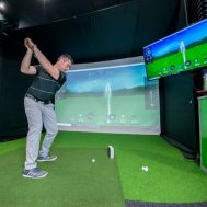 Golf Simulator Enclosures, Screens and Golf Practice Nets