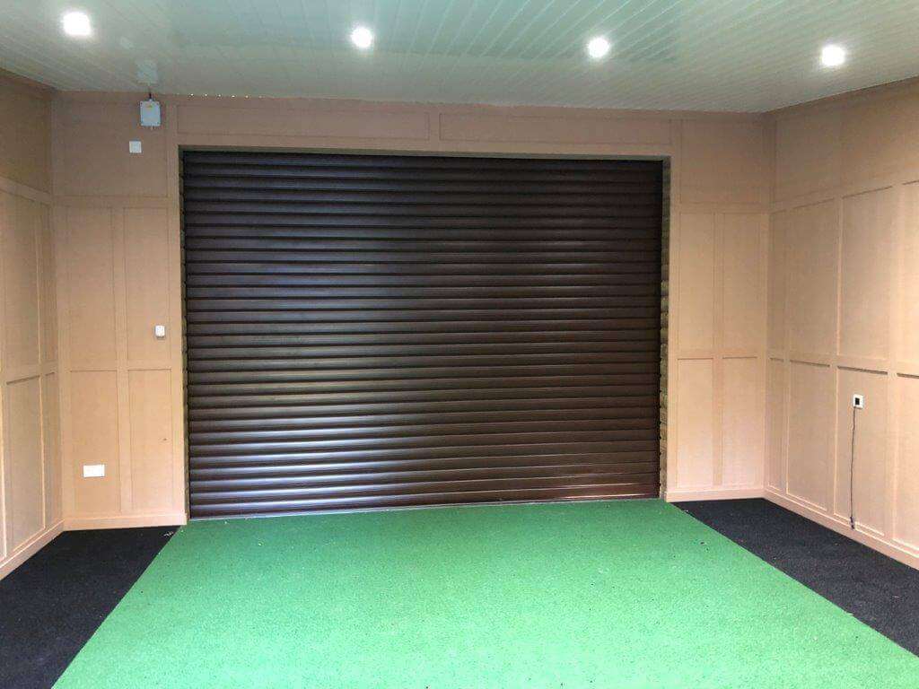 Retractable Screen Installed at West Hove Golf Club