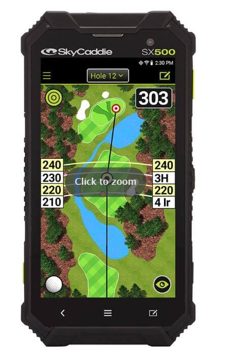 Skycaddie Sx500 Golf Range Finder Golf Swing Systems