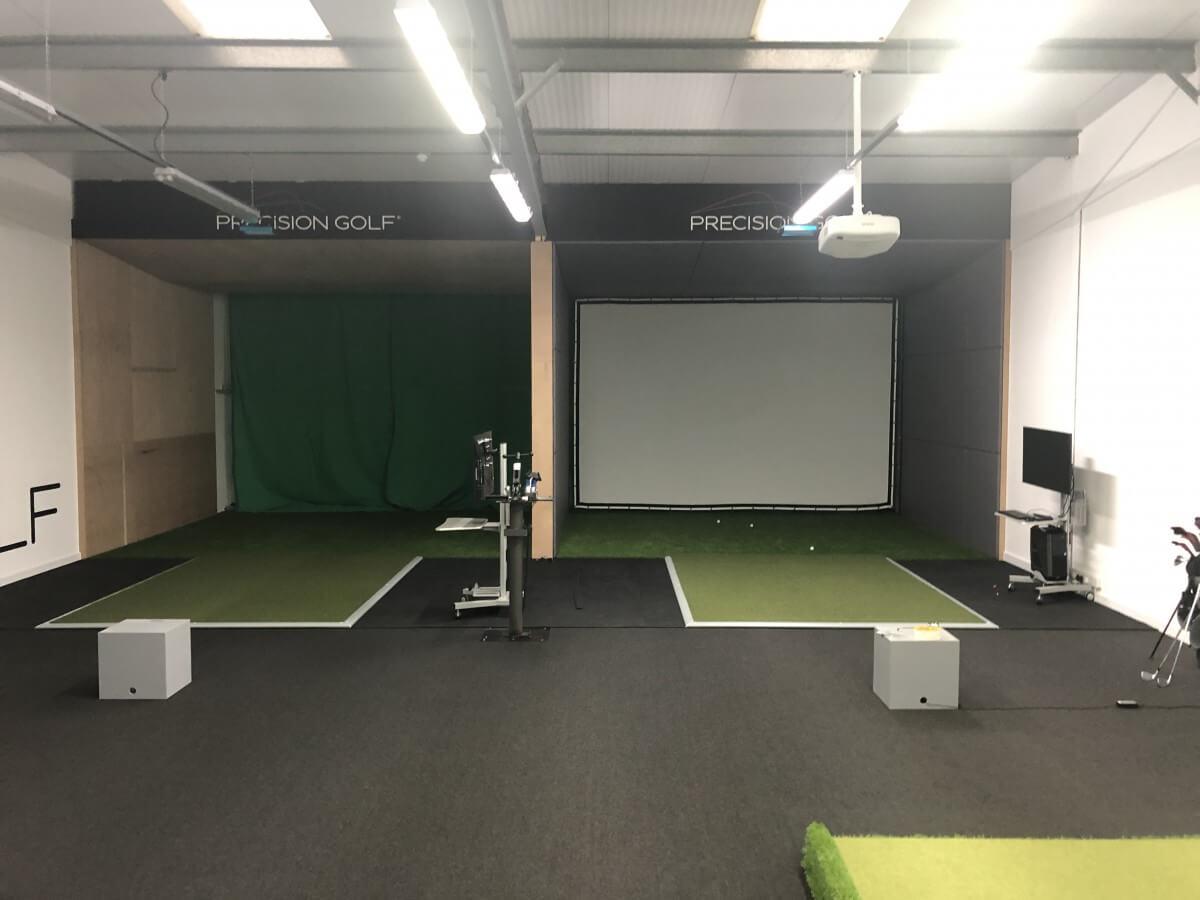 Trackman Simulators at Precision Golf Weybridge