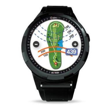 Golf Buddy Aim W10 Smart Golf Gps Watch Golf Swing Systems