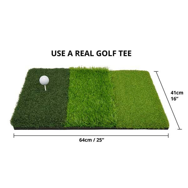 3 Turf Golf Practice Mat Sizes