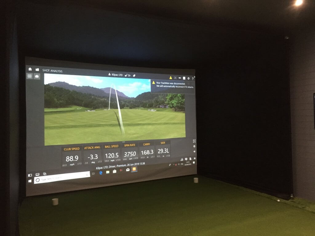 Royal Eastbourne Golf Club's New Trackman Golf Studio