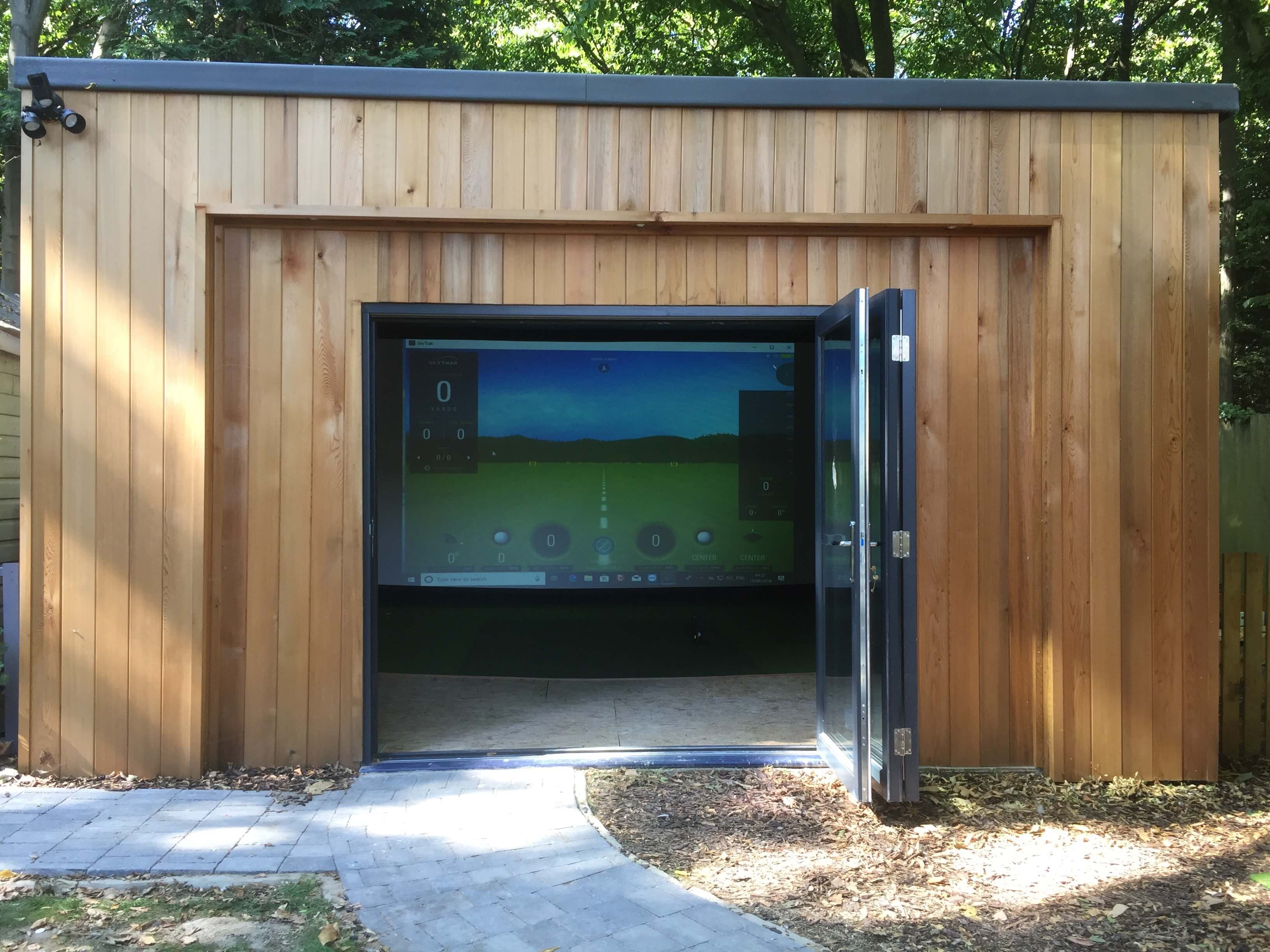 Golf Simulator Cabins