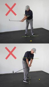 GO NO GO: BACKSWING - TO THE TOP