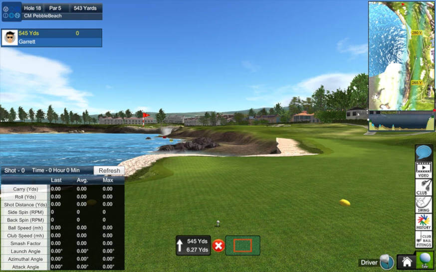 Golf simulator preview blog image