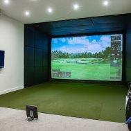 Golf Simulator Enclosures, Screens and Golf Practice Nets